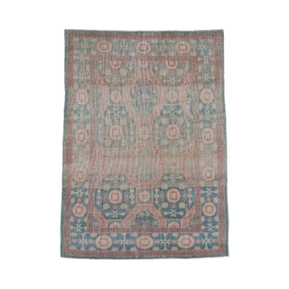 Sea Foam Chinese Khotan Rug - 5' X 7' For Sale