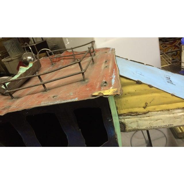 Rustic Stage Coach Repurposed Metal on Wheels For Sale In Las Vegas - Image 6 of 6