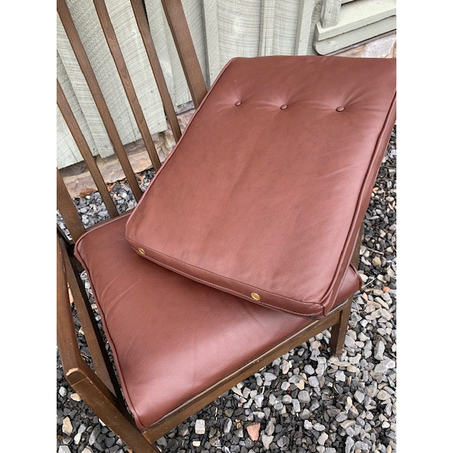 Mid Century Danish Modern Rocker Chair For Sale - Image 6 of 8