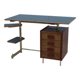 1950's Modernist Italian Desk For Sale
