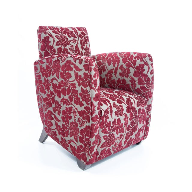 British Airways First Class Club Chair in Red Vine - Image 2 of 10