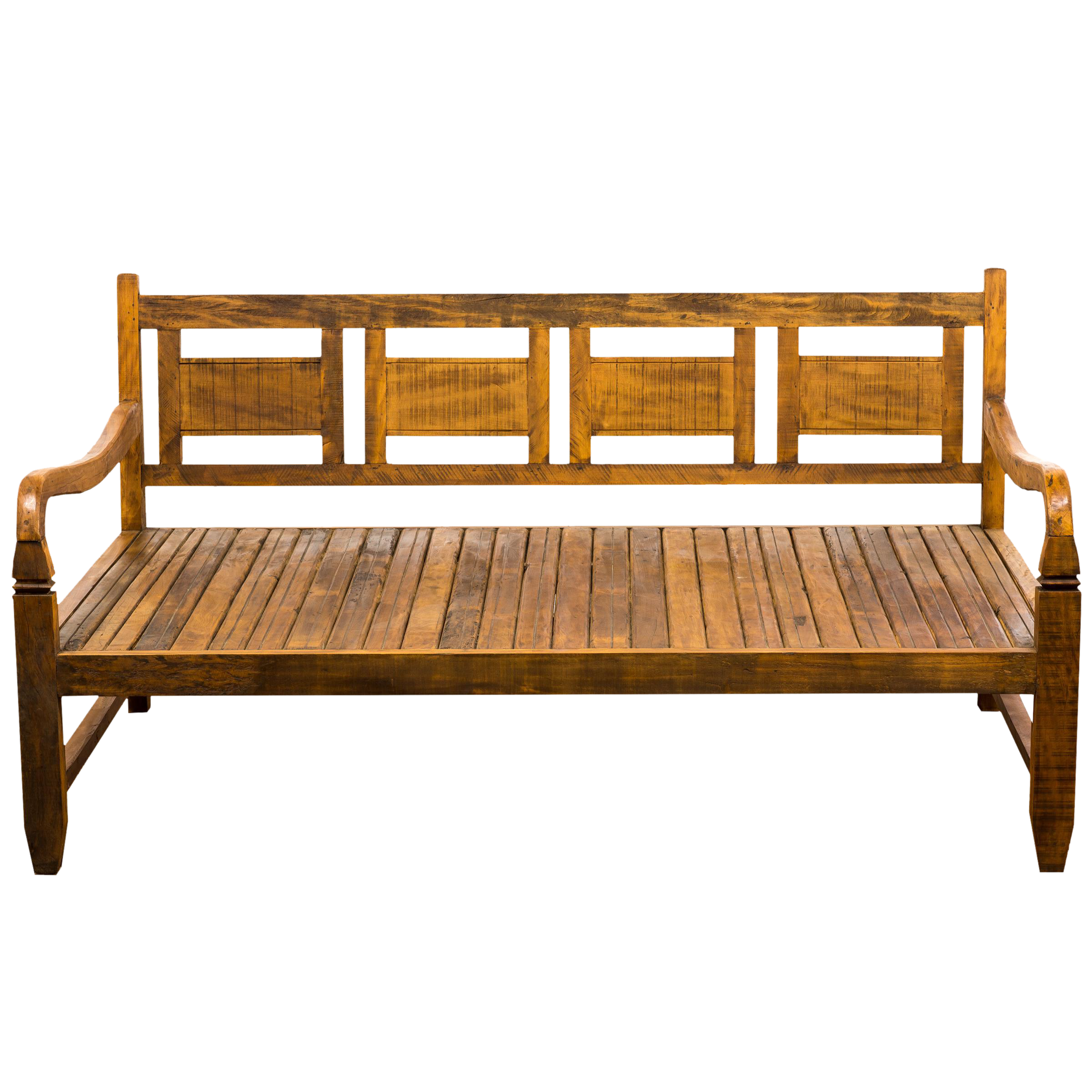 Save The Planet Handmade Reclaimed Wood Provincial Daybed Moving Sale 30%  Off