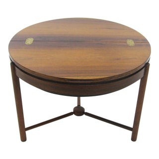 Rosewood table by Rolf Rastad & Adolf Relling For Sale