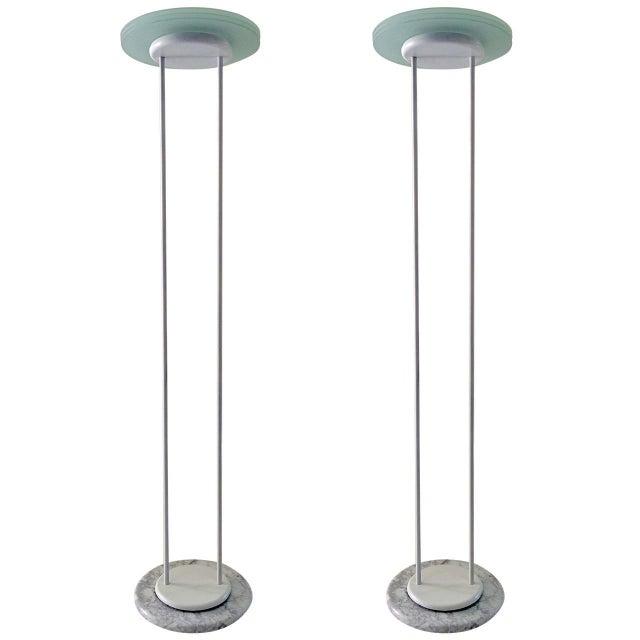 Minimal and Elegant Pair of Floor Lamps - Image 1 of 8