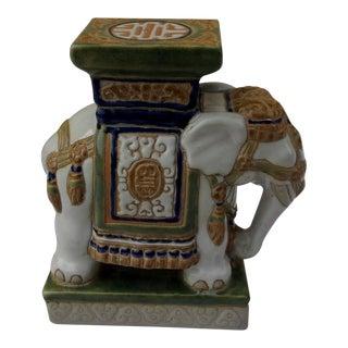 Vintage Porcelain Elephant For Sale