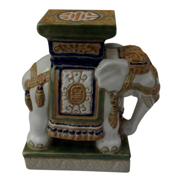Vintage Porcelain Elephant For Sale