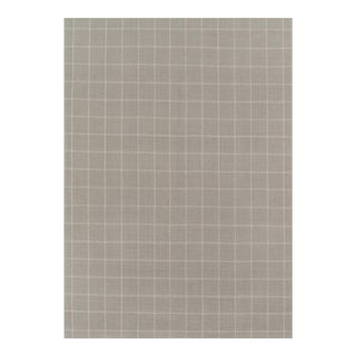 "Erin Gates by Momeni Marlborough Deerfield Grey Hand Woven Wool Area Rug - 3'6"" X 5'6"" For Sale"