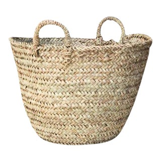 Moroccan Tote Basket