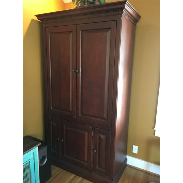 Classic American Armoire - Image 4 of 5