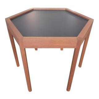 Hans C Andersen Mid Century Hexagonal Table For Sale