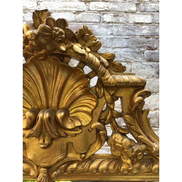 Mid 19th Century Pareclose 19th Century Mirror For Sale - Image 5 of 9