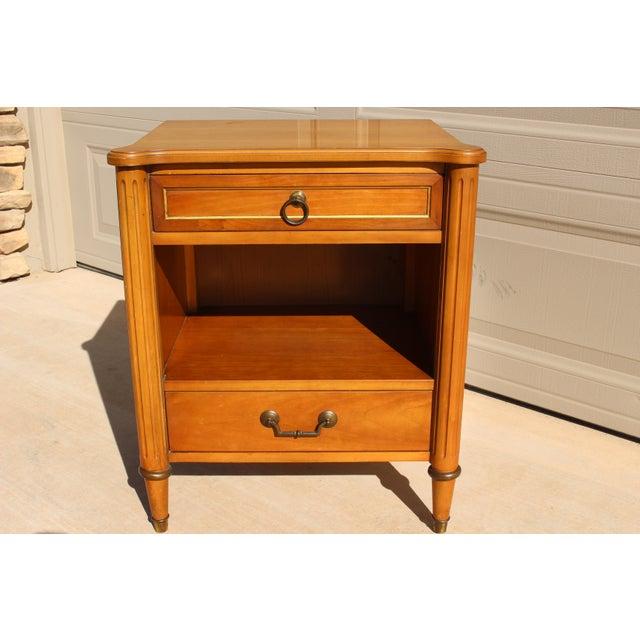 1950s Danish Modern j.b. Van Sciver Co. Nightstand Side Table For Sale - Image 13 of 13