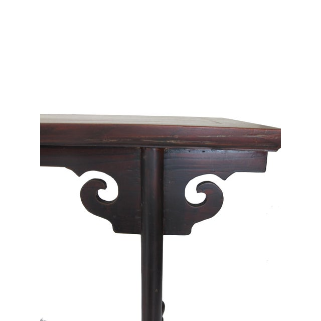 1900s Chinese Qing Sofa Console Table For Sale In Boston - Image 6 of 8