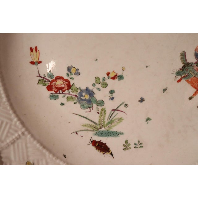 White 18th Century Porcelain Plate Signed Meissen With Kakiemon Decoration, 1740s For Sale - Image 8 of 13