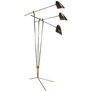David Weeks Model '303' Articulated Brass Floor Lamp $3,800