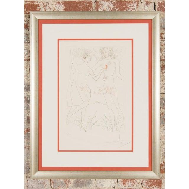 """Salvador Dali """"Adam & Eve"""" Signed Lithograph - Image 10 of 10"""