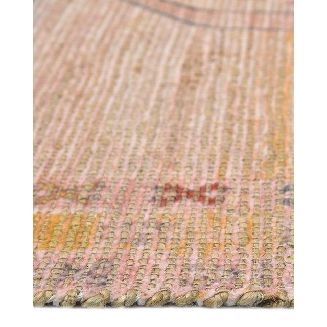 2020s Naina, Bohemian Moroccan Hand Loom Area Rug, Blush, 9 X 12 For Sale - Image 5 of 9