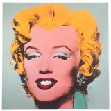 """Image of Andy Warhol Estate Rare Vintage 1989 Collector's Iconic Pop Art Lithograph Print """" Marilyn """" 1964 For Sale"""