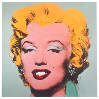 """Andy Warhol Estate Rare Vintage 1989 Collector's Iconic Pop Art Lithograph Print """" Marilyn """" 1964 For Sale"""