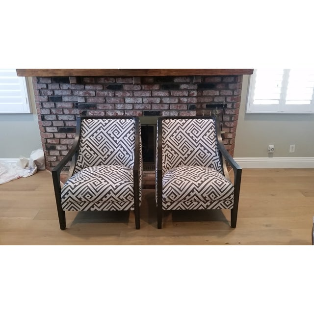 Contemporary New Accent Chairs - Pair - Image 2 of 7