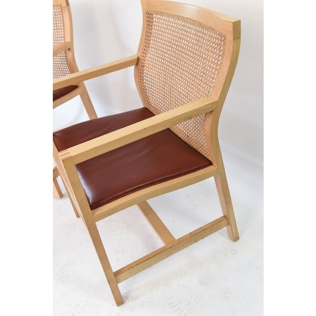 Danish Modern Rud Thygesen and Johnny Sarensen for Botium Chairs - a Pair For Sale - Image 3 of 13
