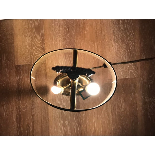 French 1960s Brass Bouillotte Lamp For Sale - Image 3 of 7