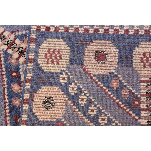 Vintage Scandinavian Marta Maas Marianne Richter Pile Rug - 4′8″ × 7′ For Sale - Image 10 of 11