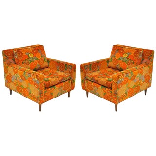 1950s Vintage Harvey Probber Chairs- a Pair For Sale