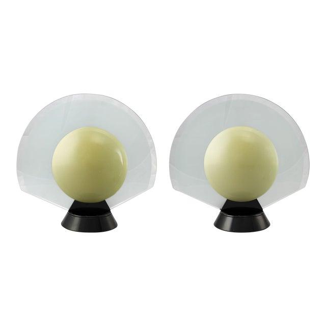 Flos-Arteluce Tikal 1555 Table Lamps - A Pair For Sale
