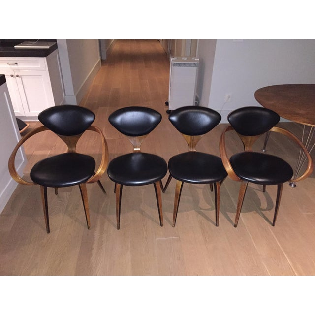 Norman Cherner Antique Chairs - Set of 4 - Image 2 of 11