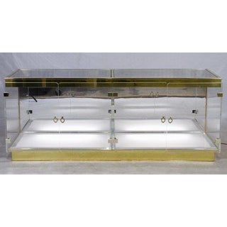 Double Plexiglass Display Case Attributed to Mastercraft Preview