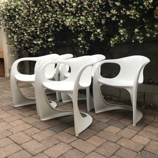 Mid Century Vitra Style Monolith Chairs- 5 Pieces Preview