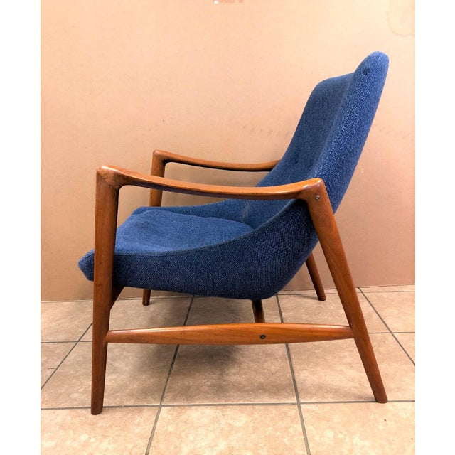 Danish Modern Danish Mid-Century Modern Lounge Chair For Sale - Image 3 of 8