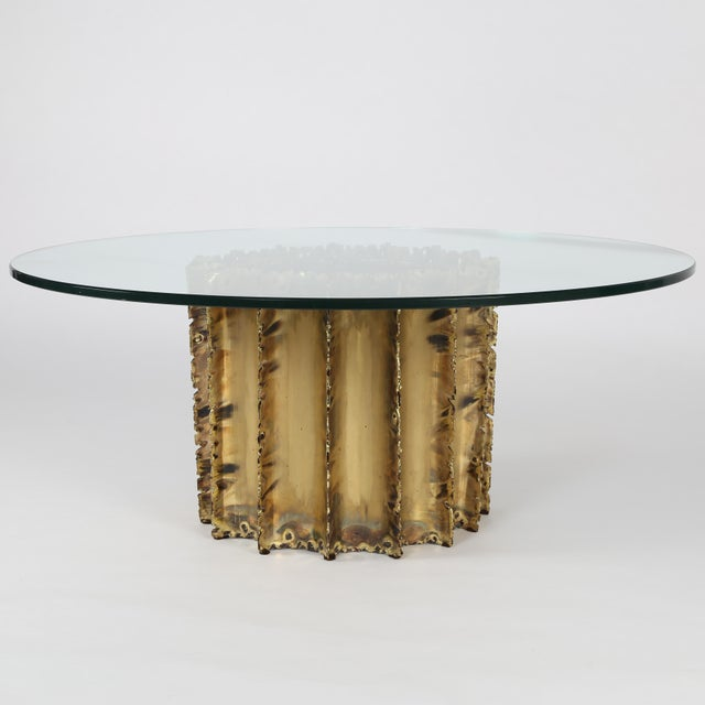 TOM GREENE BRUTALIST COFFEE TABLE, CIRCA 1970S - Image 2 of 8