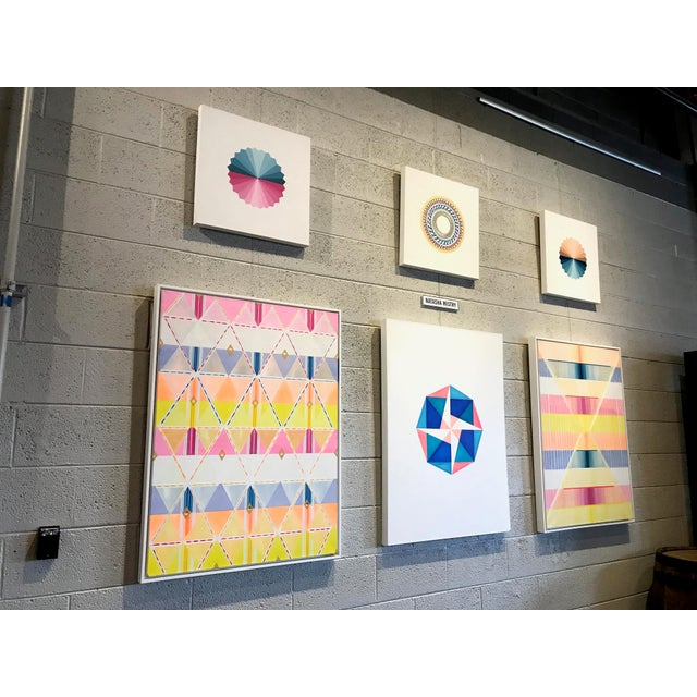 Natasha Mistry Contemporary Mediative Oil Painting For Sale In Denver - Image 6 of 9