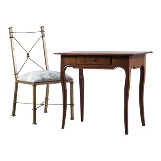Antique French Louis XV Cherrywood Table circa 1790