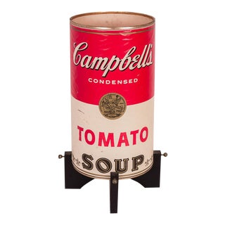 Campbell's Soup Can Lamp For Sale