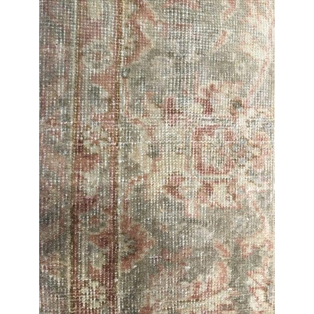 Vintage Turkish Oushak Rug - 8′1″ × 11′2″ - Image 7 of 7