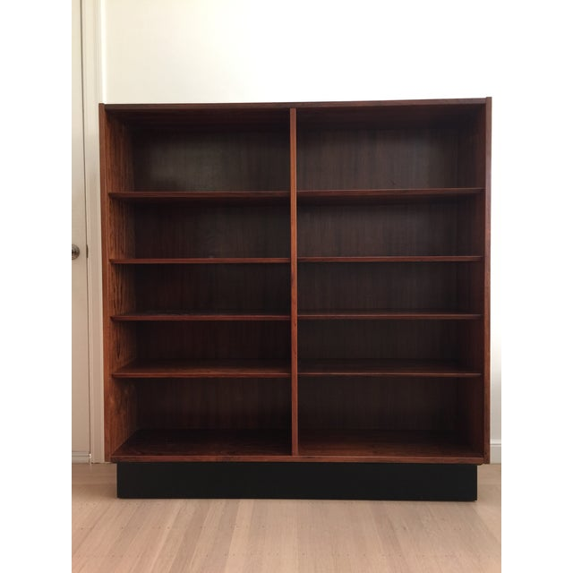 Redwood 1960s Danish Modern Bookcase For Sale - Image 7 of 8