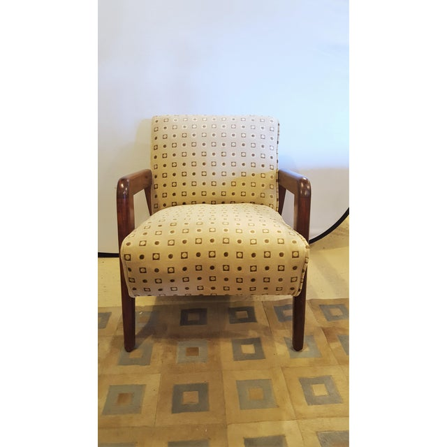 Mid-Century Modern Armchairs - A Pair For Sale - Image 4 of 8