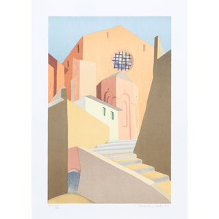 Clarence Holbrook Carter, Sienna, Serigraph For Sale