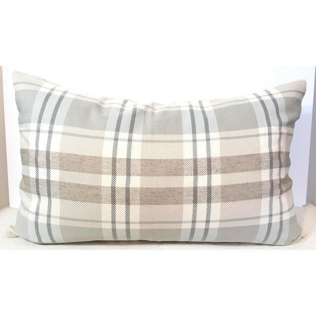 Designer Plaid Pillow Cover - Image 2 of 3