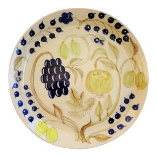 Hand Painted & Hand Crafted Fruit Serving Platter