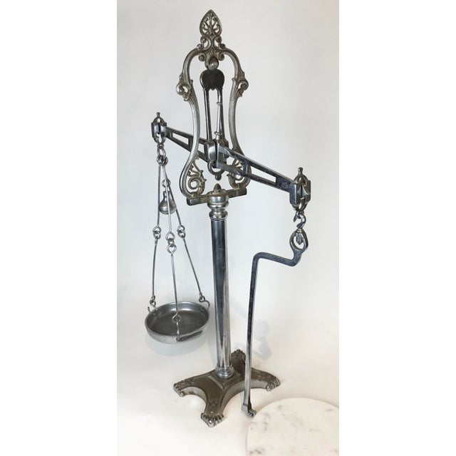 19th Century 19th C. Hunt & Co. Balance Scale - London For Sale - Image 5 of 13