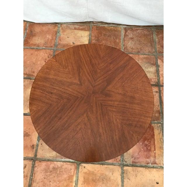 Kipp Stewart Walnut Side Table - Image 6 of 8