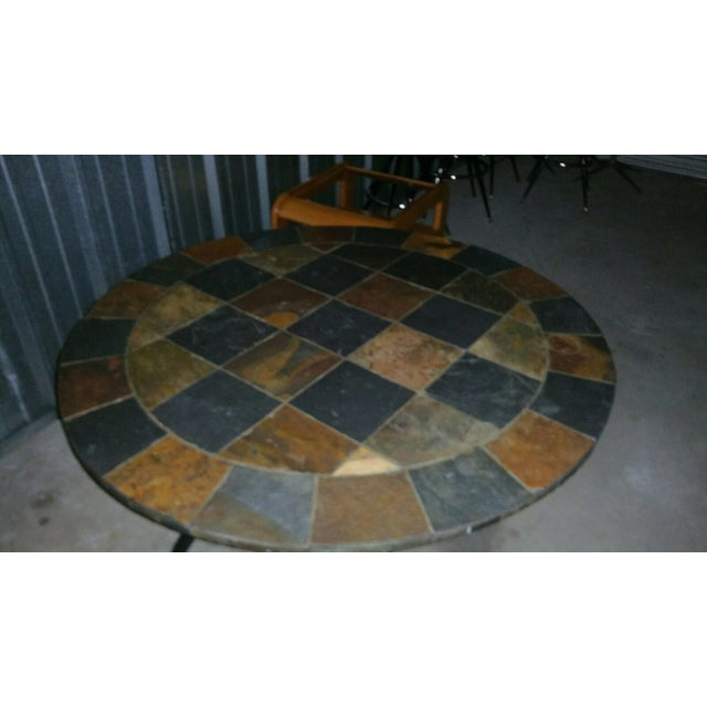 Slate Stone Dining Table - Image 3 of 3