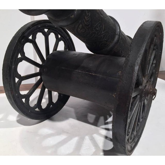 18th Century French Iron Canons - a Pair For Sale In Dallas - Image 6 of 8