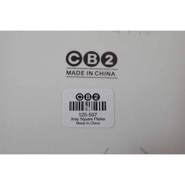 Modern CB2 Modern Dinnerware Featuring Mums - 40 Piece Set For Sale - Image 3 of 11