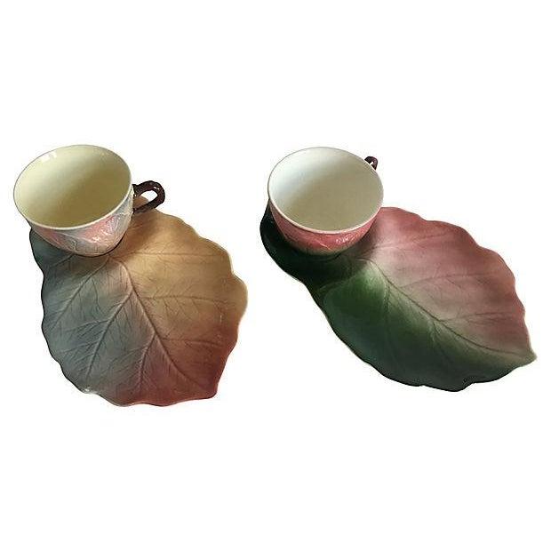 Ceramic 1940s English Tea & Toast Set - a Pair For Sale - Image 7 of 9