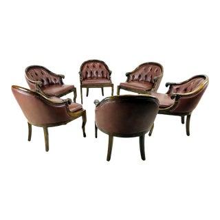 Monteverdi-Young Ram's Head Armchairs - Set of 6 For Sale